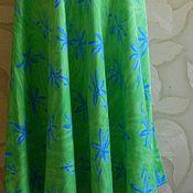 Одежда ручной работы. Ярмарка Мастеров - ручная работа Сочная и яркая с цветочками юбка. Handmade.