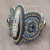 Украшения handmade. Livemaster - original item Bracelet with natural stones, beading (0390). Handmade.