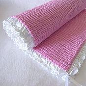 """Плед для новорожденного """"Розовое облачко"""""""