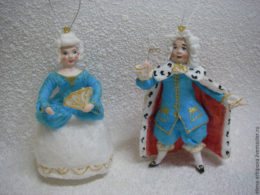 fairy tale dolls handmade livemaster handmade buy christmas decorations made of cotton - Queen Christmas Decorations