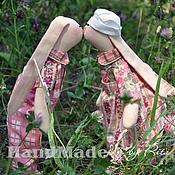 Куклы и игрушки ручной работы. Ярмарка Мастеров - ручная работа Зайки в стиле Прованс. Handmade.