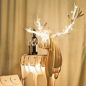Подарки к праздникам ручной работы. Ярмарка Мастеров - ручная работа Рождественский олень. Handmade.