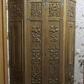 Для дома и интерьера ручной работы. Ярмарка Мастеров - ручная работа Угловой шкаф в прихожую. Handmade.