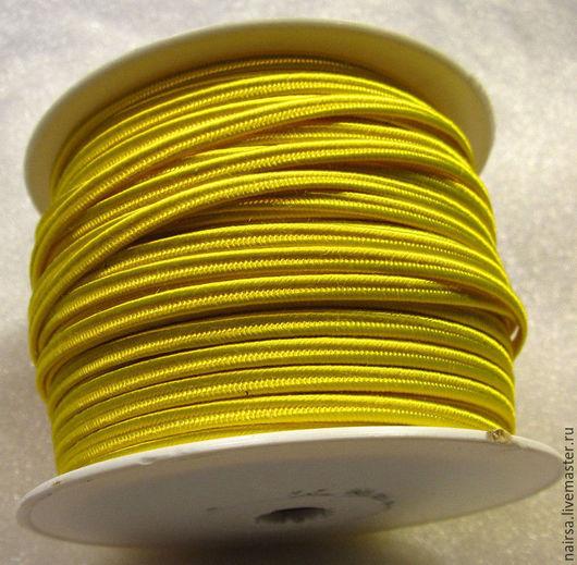 желтый сутаж