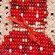 Броши ручной работы. Брошь из бисера Платье в горошек. Любовь Ворошилова (mandarinka-rnd). Интернет-магазин Ярмарка Мастеров. Подарок