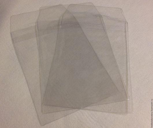Упаковка ручной работы. Ярмарка Мастеров - ручная работа. Купить Пластиковый пакет под обложку на паспорт.. Handmade. Белый