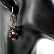 Earrings handmade. Livemaster - original item earrings: Pomegranate. Handmade.