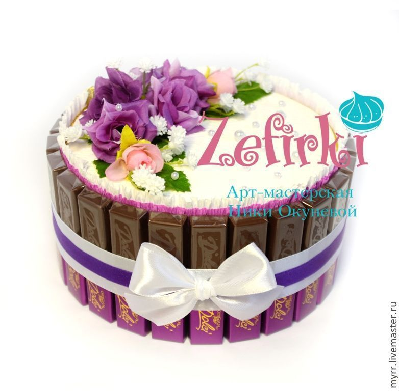 Шоколад в подарок на день рождения