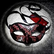 Одежда ручной работы. Ярмарка Мастеров - ручная работа Венецианская маска Коломбина (mini) № 52. Handmade.