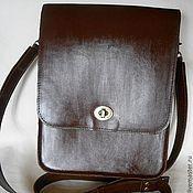 Сумки и аксессуары handmade. Livemaster - original item Womens leather handbag