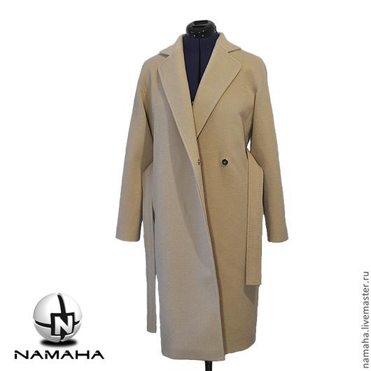 Верхняя одежда ручной работы. Ярмарка Мастеров - ручная работа. Купить Пальто Бежевое кашемировое. Handmade. Пальто демисезон пальто
