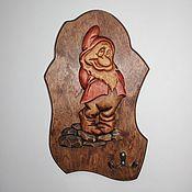"""Для дома и интерьера ручной работы. Ярмарка Мастеров - ручная работа Ключница """"Гном"""". Handmade."""