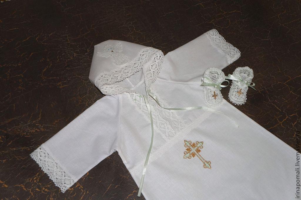Рубашка для крестин своими руками 83