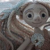 """Куклы и игрушки ручной работы. Ярмарка Мастеров - ручная работа войлочная кукла""""Босоножка""""для Ольги. Handmade."""