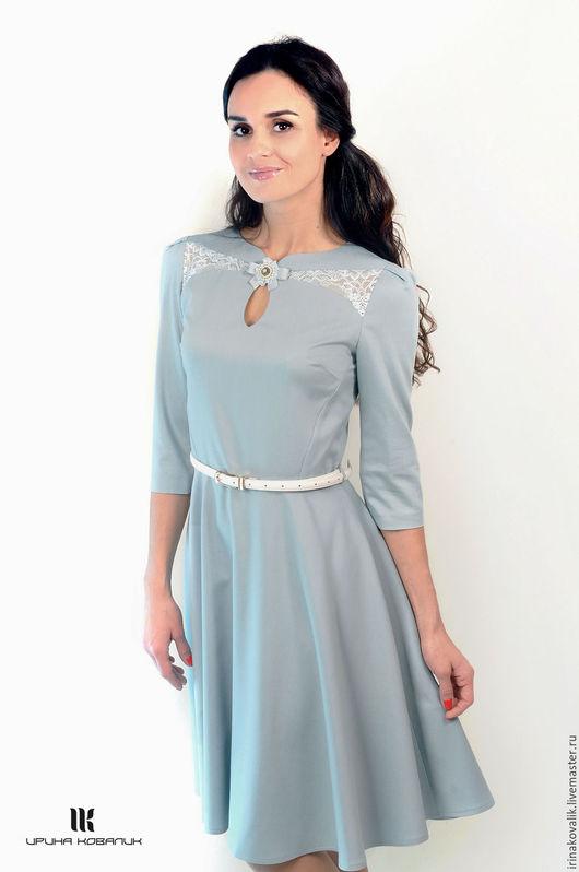 Платья ручной работы. Ярмарка Мастеров - ручная работа. Купить Коктейльное платье. Handmade. Платье, платье с пышной юбкой, осень