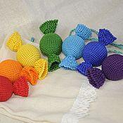 """Одежда ручной работы. Ярмарка Мастеров - ручная работа Игровой набор """"Конфетная радуга"""". Handmade."""