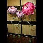 Свадебный салон ручной работы. Ярмарка Мастеров - ручная работа Гигантские пионы розы. Handmade.