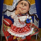 Куклы и игрушки ручной работы. Ярмарка Мастеров - ручная работа Воображуля Глашка. Handmade.