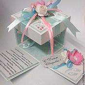 Открытки ручной работы. Ярмарка Мастеров - ручная работа Magic box С Днем Свадьбы. Handmade.