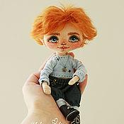 Куклы и игрушки ручной работы. Ярмарка Мастеров - ручная работа Рыжий мальчуган. Handmade.