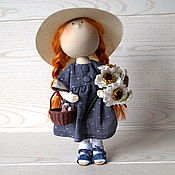Куклы и пупсы ручной работы. Ярмарка Мастеров - ручная работа Текстильная сувенирная интерьерная кукла в подарок ручной работы. Handmade.