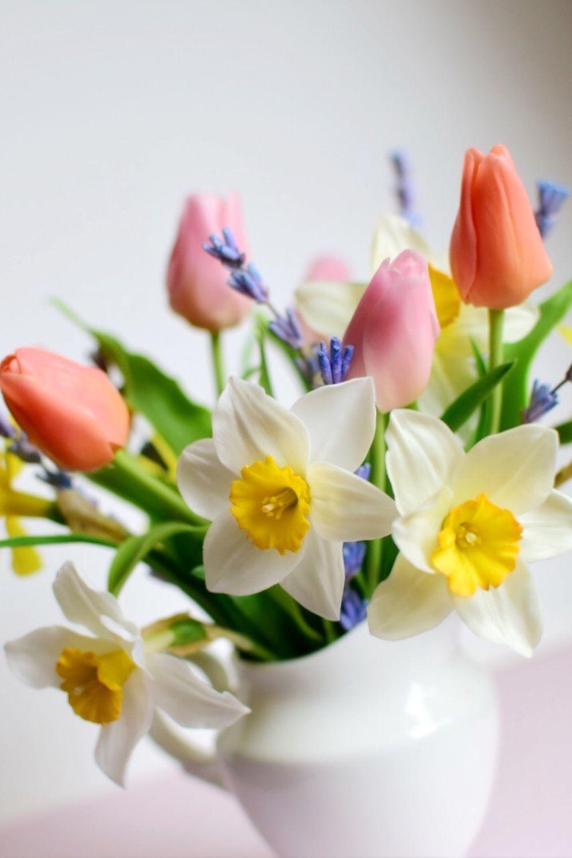 Весенний букетик из холодного фарфора, Букеты, Челябинск,  Фото №1