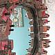"""Зеркала ручной работы. зеркало """"Озеро"""". Света Рыбалко. Интернет-магазин Ярмарка Мастеров. Авторская ручная работа, дерево"""