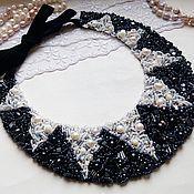 "Украшения handmade. Livemaster - original item Choker-collar ""Domino effect"". Handmade."