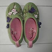 """Обувь ручной работы. Ярмарка Мастеров - ручная работа """" Весеннее настроение"""". Handmade."""