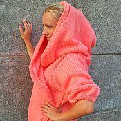 Одежда handmade. Livemaster - original item Knitted jacket with kapslokom. Handmade.