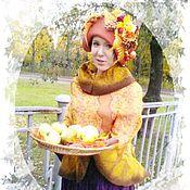 Работы для детей, ручной работы. Ярмарка Мастеров - ручная работа шляпа для фотосессий Золотая Осень. Handmade.