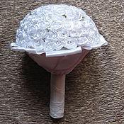 Свадебный салон ручной работы. Ярмарка Мастеров - ручная работа Букет - дублёр Белоснежая свадьба. Handmade.
