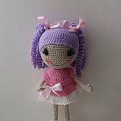 Куклы и игрушки ручной работы. Ярмарка Мастеров - ручная работа вязаная кукла лулалупси. Handmade.