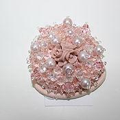 Украшения ручной работы. Ярмарка Мастеров - ручная работа Резинка для волос с розой. Handmade.