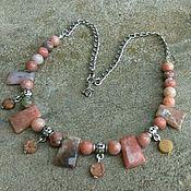 #31 Ожерелье из агальматолита