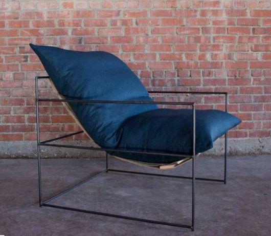 Мебель ручной работы. Ярмарка Мастеров - ручная работа. Купить Кресло в стиле лофт. Handmade. Кресло, кресло из кожи, кожа