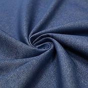 Материалы для творчества ручной работы. Ярмарка Мастеров - ручная работа Джинсовая ткань   с эластаном синяя  Tommy Hilfiger. Handmade.