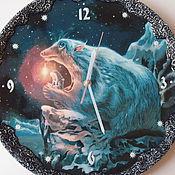 """Для дома и интерьера manualidades. Livemaster - hecho a mano Часы настенные """" Волшебные миры"""". Handmade."""