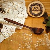 handmade. Livemaster - original item Wooden spoon 145#4. Handmade.