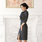 Одежда ручной работы. Ярмарка Мастеров - ручная работа Платье «Бантик». Handmade.
