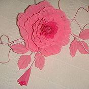 Аксессуары ручной работы. Ярмарка Мастеров - ручная работа Цветы из ткани. Handmade.