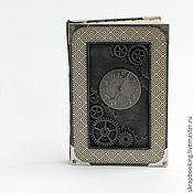 """Блокноты ручной работы. Ярмарка Мастеров - ручная работа Блокнот """"Часы"""". Handmade."""