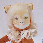 Куклы и игрушки ручной работы. Ярмарка Мастеров - ручная работа Лисичка тедди-долл. Handmade.