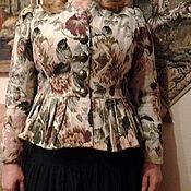 Одежда ручной работы. Ярмарка Мастеров - ручная работа БОХО-жакет из гобелена.. Handmade.