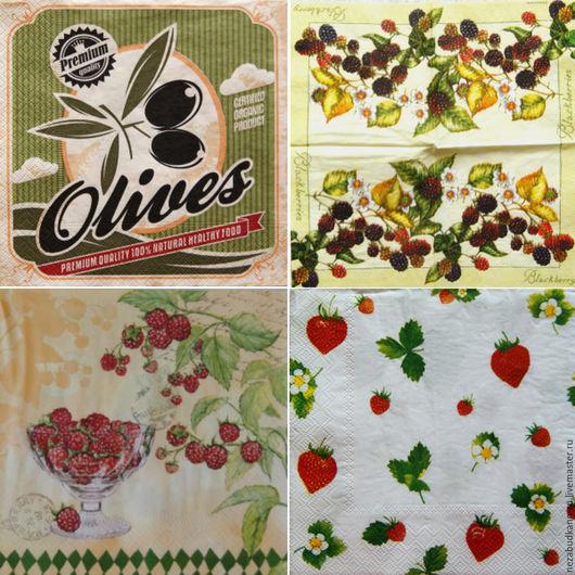«Olives» 359 «Ежевичный куст» 369 «Ягода — малина» 20 «Клубнички» 38