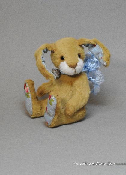 Мишки Тедди ручной работы. Ярмарка Мастеров - ручная работа. Купить Вениамин (Веник). Handmade. Желтый, друзья тедди, бубенчик