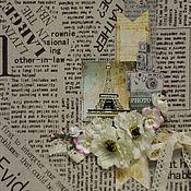 """Канцелярские товары ручной работы. Ярмарка Мастеров - ручная работа Фотоальбом семейный """"PHOTO"""". Handmade."""