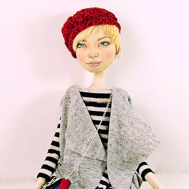 Куклы и игрушки ручной работы. Ярмарка Мастеров - ручная работа Авторская текстильная кукла по фото. Handmade.