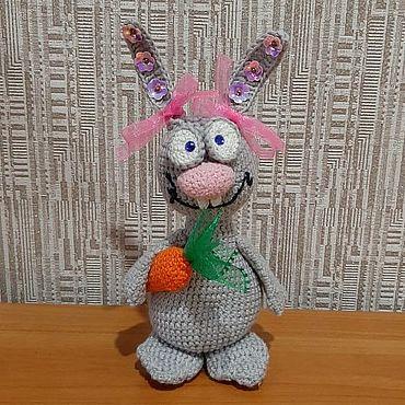 Куклы и игрушки ручной работы. Ярмарка Мастеров - ручная работа Игрушки: зайчик. Handmade.