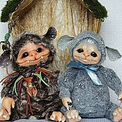 Куклы и игрушки ручной работы. Ярмарка Мастеров - ручная работа Монстрики Мальмоны. Handmade.